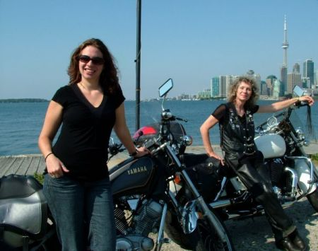 mother daughter ride