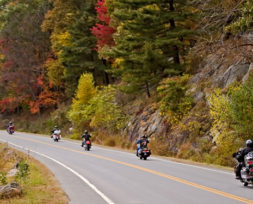 fall riding routes
