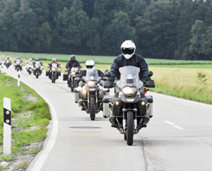 motorcycle riding group