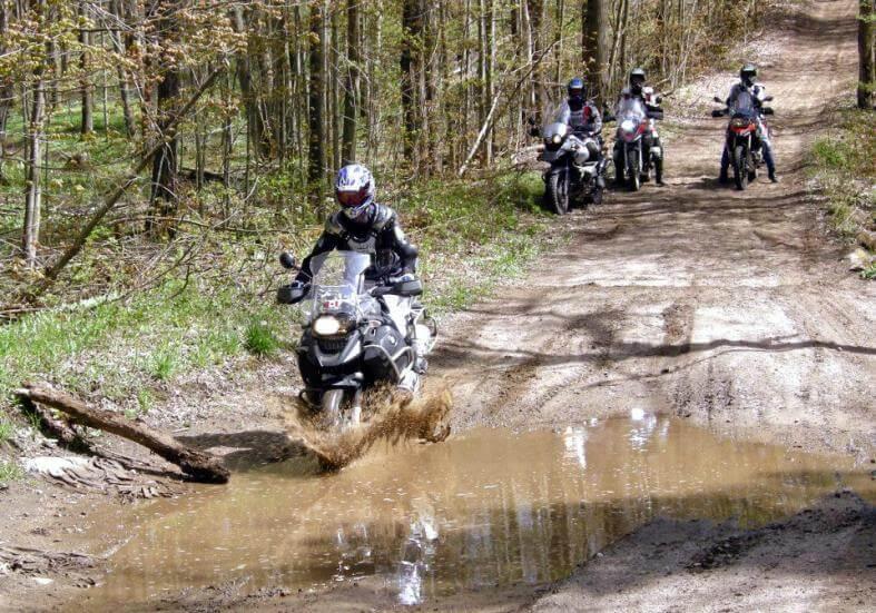 mud bog - motorcycle training - Riders Plus Insurance
