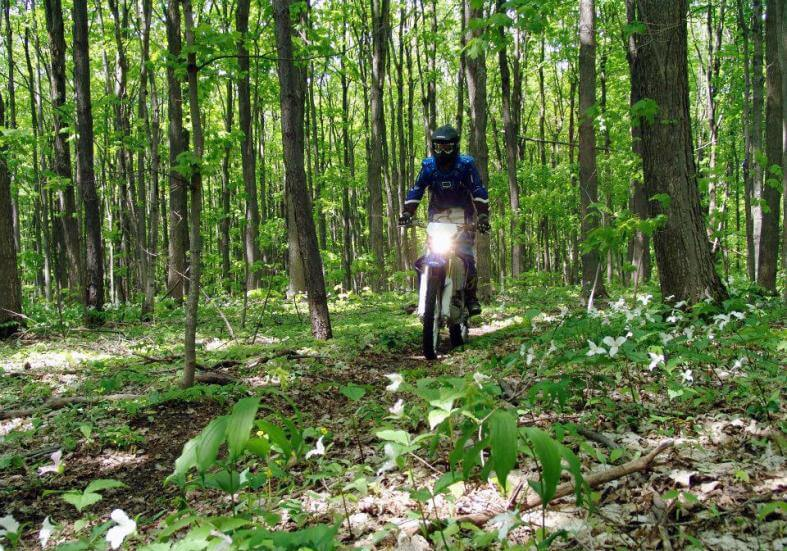 trail motorcycle riding - Rider Plus Insurance